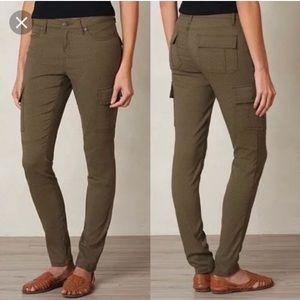 Prana Meme Cargo Pants dark gray Sz 2 like new